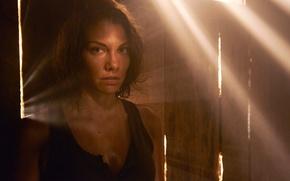 Картинка промо, Lauren Cohan, Maggie, пятый сезон, The Walking Dead