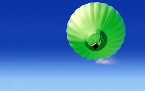 Картинка синий, зеленый, Шар