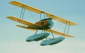Картинка aircraft, war, art, aviation, ww1, Albatros