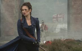 Обои предубеждение и зомби, Pride and Prejudice and Zombies, Гордость, Lily James