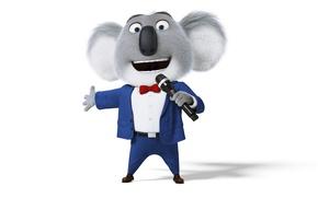 Картинка cinema, wallpaper, animals, microphone, cartoon, hair, shoes, musical, film, suit, animated film, drawing, sugoi, tie, …