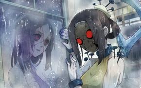 Картинка аниме, painwheel, skullgirls