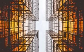 Картинка здания, геометрия, ракурс, параллель
