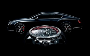 Картинка часы, Bentley, Breitling, Breitling for Bentley