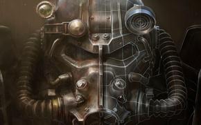 Картинка Броня, Арт, Bethesda Softworks, Bethesda, Экипировка, Bethesda Game Studios, Fallout 4, The Art of Fallout …