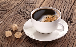 Картинка кофе, чашка, сахар, напиток
