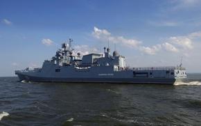 "Картинка ВМФ, фрегат, Балтийское море, сторожевой корабль, ""Адмирал Эссен"""