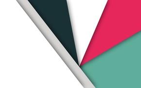 Картинка белый, линии, абстракция, геометрия, салатовый, малиновый
