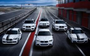 Обои BMW, гоночный трек, mixed, 5 Series, 3 Series, 1 Series