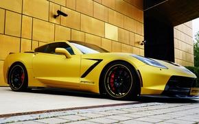 Картинка Corvette, Chevrolet, шевроле, Coupe, корвет, Stingray, 2014, Geiger, стингрей