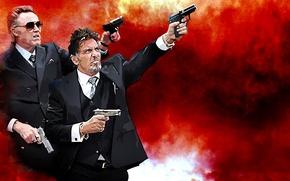 Картинка Al Pacino, Аль Пачино, Christopher Walken, Реальные парни, Кристофер Уокен, Stand Up Guys