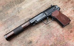 Картинка Пб 6п9, бесшумный, пистолет, на, базе, пистолета