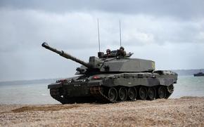Картинка танк, Великобритания, Challenger 2, военная техника, НАТО