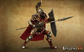 Картинка арт, art, легионер, герои меча и магии 7, Might & Magic 7, Альянс Света