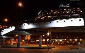 Картинка мост, город, архитектура, киев