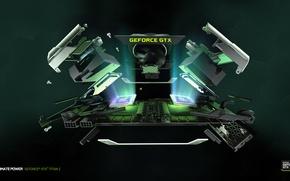 Картинка Nvidia, GeForce, видеоускоритель, GTX Titan Z
