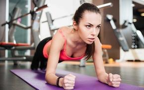 Обои fitness, female, workout