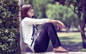Картинка взгляд, девушка, фотограф, girl, photography, photographer, Brian Storey