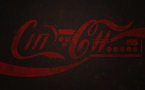 Картинка металл, будущее, краска, логотип, ржавчина, cola, coca