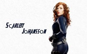 Обои черная вдова, Scarlett Johansson, скарлетт йоханссон, мстители