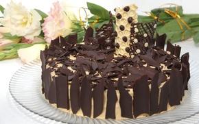 Картинка шоколад, торт, выпечка