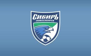 Картинка футбольный клуб, Орлы, Сибирь, FK_Sibir, Сине-белы, Новосибирск