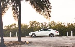 Картинка тюнинг, Mercedes-Benz, Мерседес, Велосипед, AMG, CLS 63, Vossen, x State