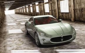 Картинка Maserati, auto, render, 3d max, vray