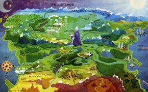 Картинка map, mlp, equestria, mylittlepony.