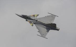 Картинка истребитель, бомбардировщик, многоцелевой, Gripen, SAAB JAS 39