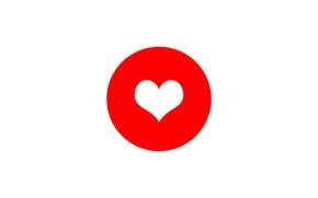Картинка праздник, сердце, цвет, круг, Валентин
