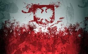 Обои флаг, Польша, flag, Poland, flaga, Polska