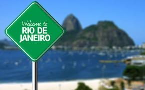 Картинка фон, знак, Рио-де-Жанейро, Rio de Janeiro