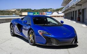 Картинка blue, carbon, mclaren, 650S