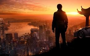 Картинка город, человек, True Crime: Hong Kong