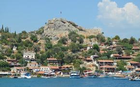 Картинка море, природа, Турция