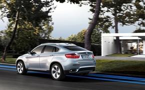 Картинка BMW, синяя