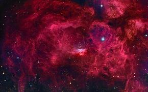 Обои космос, туманность, звёзды, Мир, созвездие