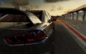 Картинка игра, game, mitsubishi, cars, lancer, Project, Project CARS, 2015, Slightly Mad Studios, Community Assisted Race …