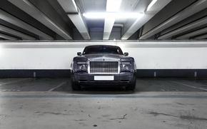 Картинка Rolls-Royce, Phantom, Front, View