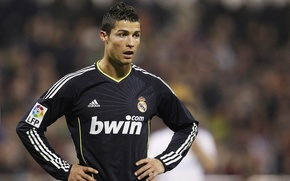 Обои спорт, cristiano ronaldo 2011, фото с роналдо в реале, роналдо 2011