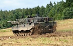Картинка оружие, танк, Leopard 2 A6