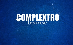 Картинка музыка, music, синий фон, комплекстро, complextro