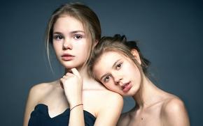 Картинка две девочки, прелесть, Alexander Vinogradov, портрет
