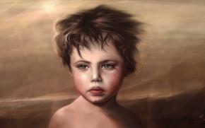 Картинка море, ветер, корабль, мальчик, ребёнок, античность, ренессанс, эпоха