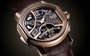 Картинка Часы, gold, Watches, Bvlgari