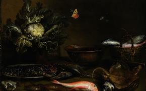 Картинка натюрморт, живопись, Арт, золотой век