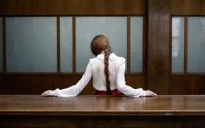Картинка девушка, коса, Sandra Plajzer