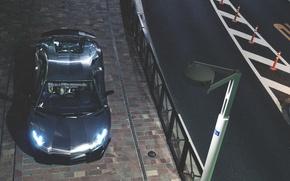 Картинка lamborghini, aventador, ламборгини, top, авентадор