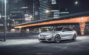 Картинка BMW, bridge, Coupe, front, silvery, F82, Ciprian Mihai
